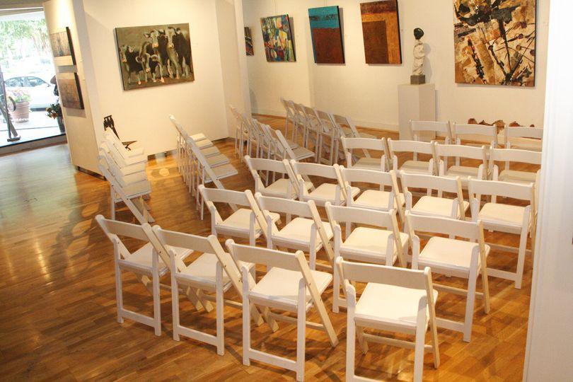 chair arrangement photo