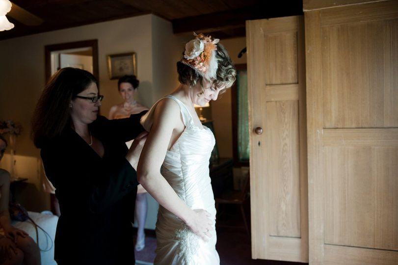 Bride prepartion