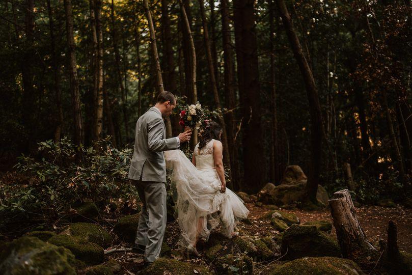 Walking through the woods (Anthony Godines Photography)