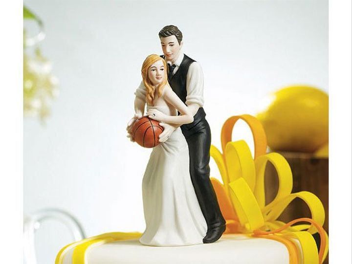 Tmx 1327022882316 Basketballcaketopper Wrentham wedding favor