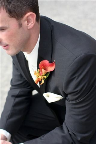 callalilyboutonniere