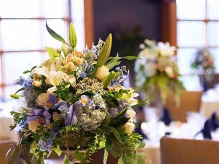 Tmx 1262374115258 Carsonpillararrangement Seattle wedding florist