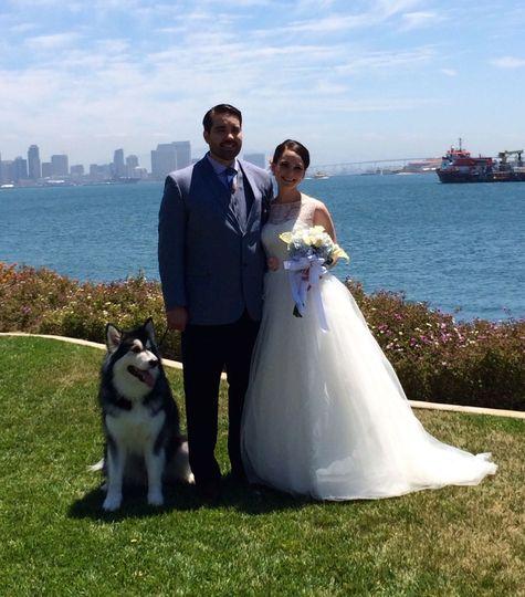 Wedding on the San Diego Bay