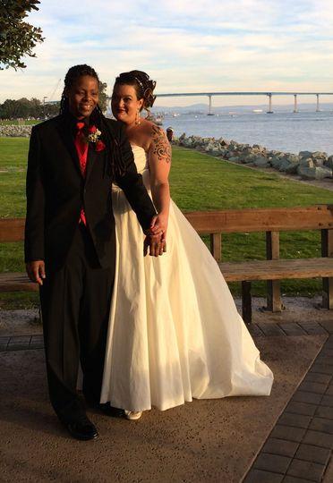 Gazebo Wedding by the Bay