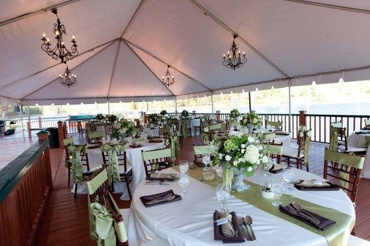 main lodge back deck wedding