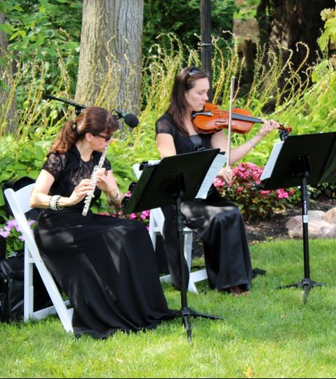July 21, 2013 Garden Ceremony performance at The English Manor, Ocean Township, NJ....