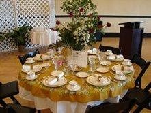 we also offer all type of linens, chair covers, napkins, chairs, tables, and all your rental needs!