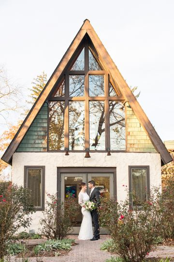 wedding photo at west asheville garden retreat and sanctuary 51 692194 158533088362807