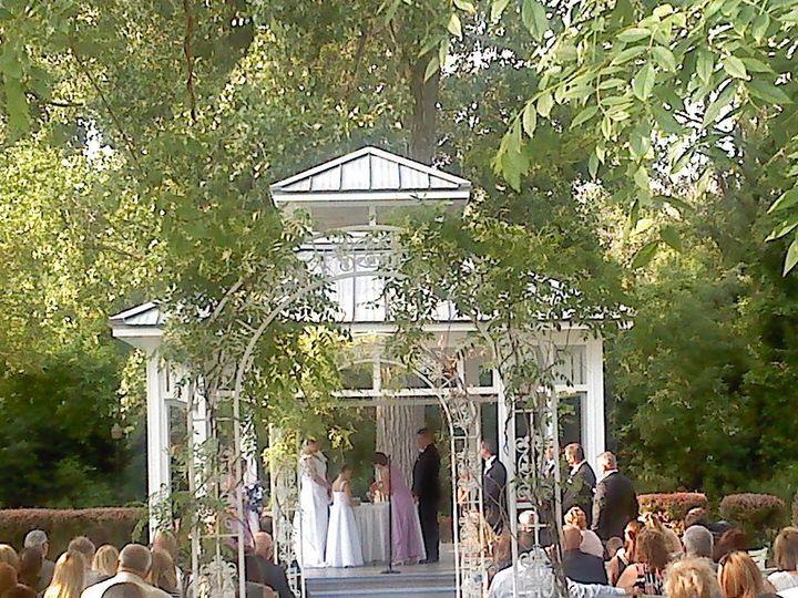 Outdoor ceremony at Sameul's Grande Manor