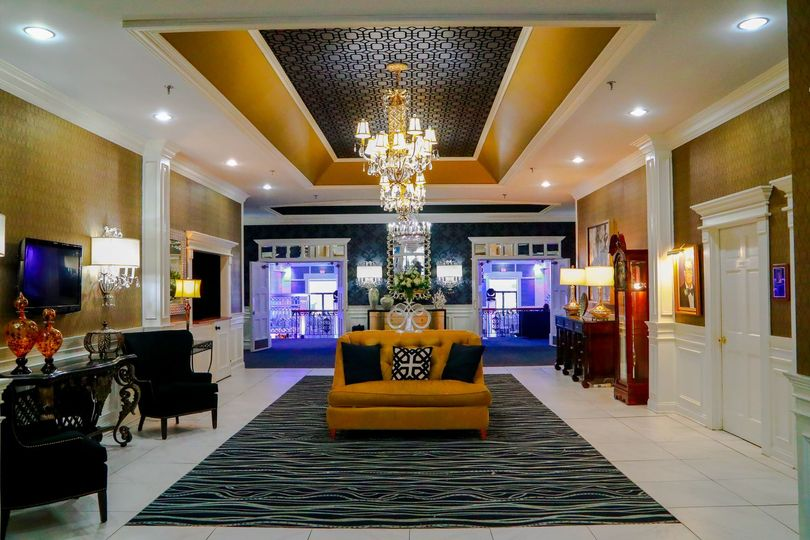 Grande Lobby as entering