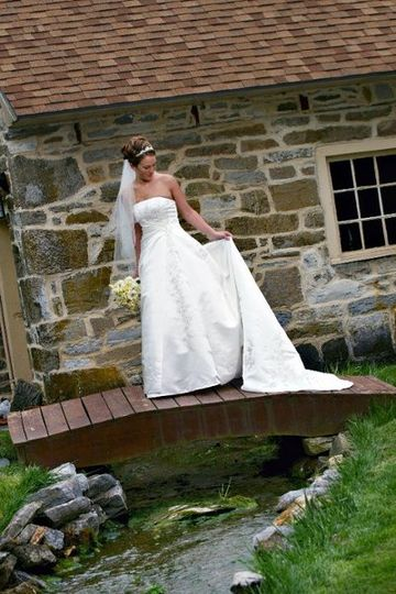 Bride at the Spring House