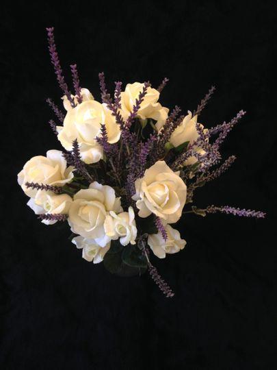 bouquet rose lavender 1