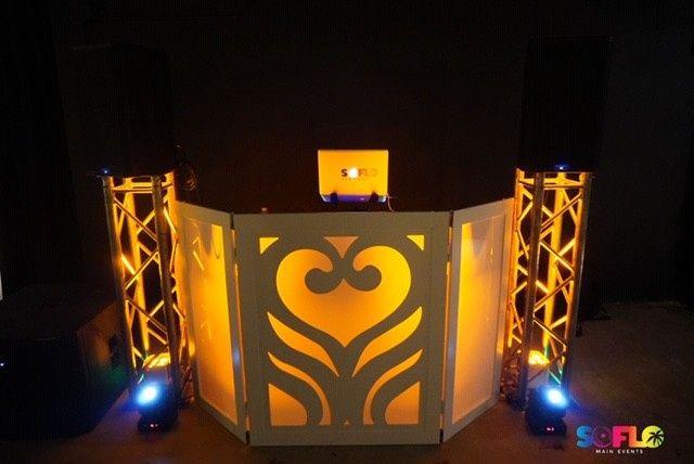 White Heart DJ Facade