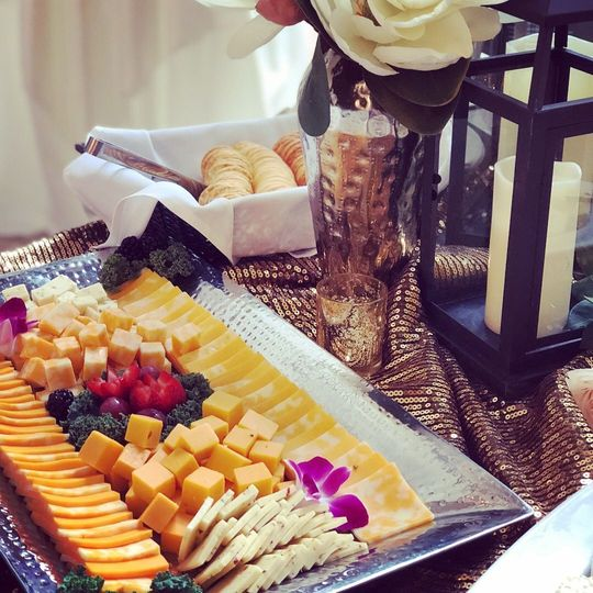 Fruits and cheese