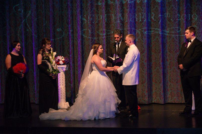 Theater Wedding RI