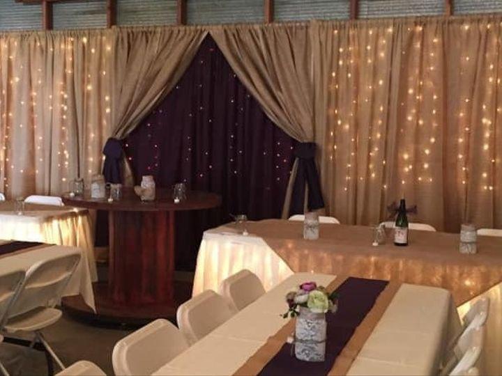 Tmx Burlap With Eggplant Center 51 110294 161685208238094 Fairfax, MN wedding rental