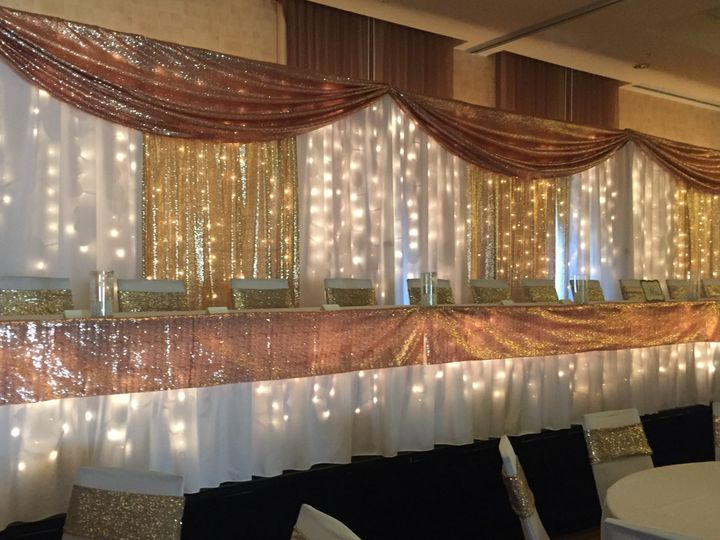 Tmx Rose Gold Champagne Gold 51 110294 161688347680150 Fairfax, MN wedding rental