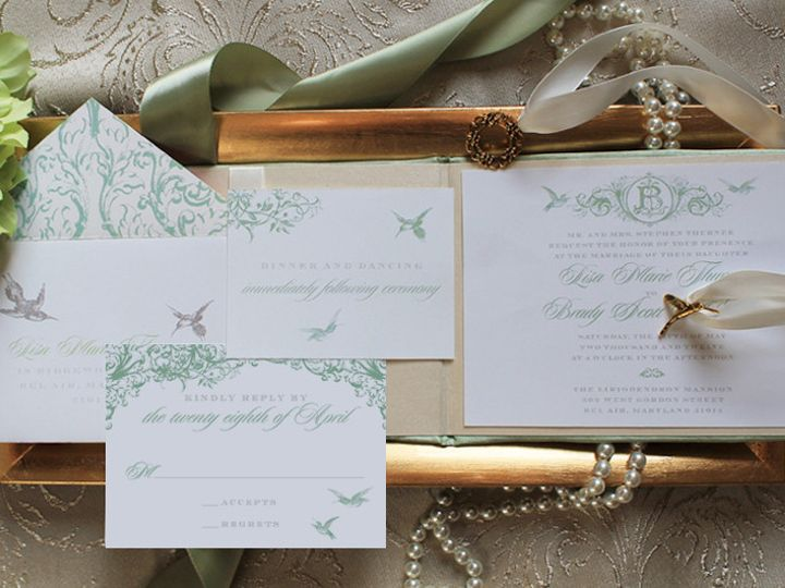 Tmx 1373660984096 Lisabrady3 Burlington wedding invitation