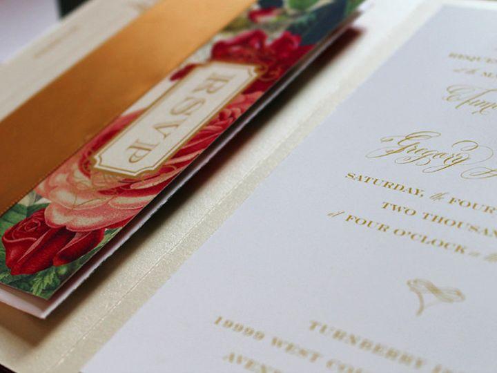 Tmx 1373661071110 Amiegregory3 Burlington wedding invitation