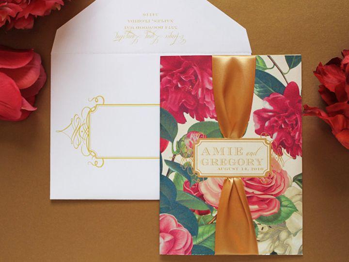 Tmx 1373661073713 Amiegregory1 Burlington wedding invitation