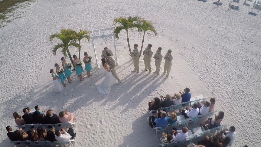 Beach wedding - Key West HD Video Productions