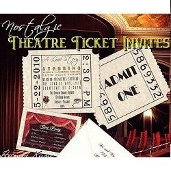HollywoodMovieTicketWeddingInvitations