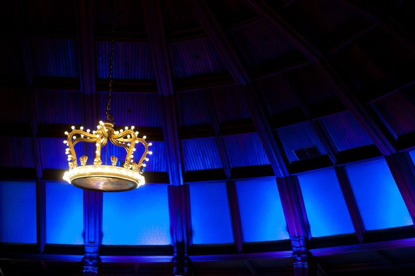 Hotel-Del-Coronado-Crown-Room-Blue-Uplights