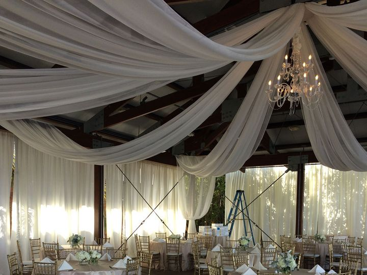 Tmx 1432239841720 Bali Hai Draping Backdrops And Crystal Chandelier San Diego wedding eventproduction
