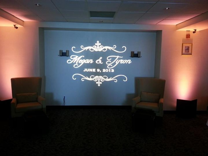 Tmx 1432239950019 Custom Gobo San Diego wedding eventproduction