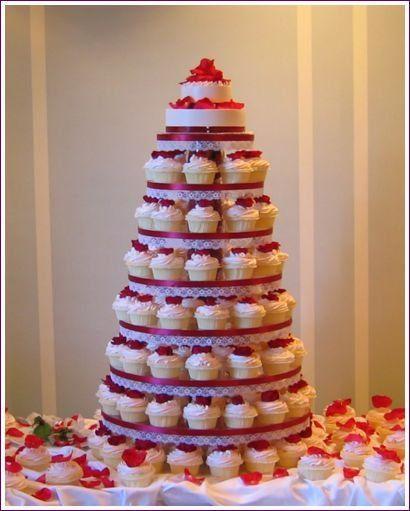 Tmx 1267495162136 Redrosecupcaketowerrd Huntington Beach, California wedding cake