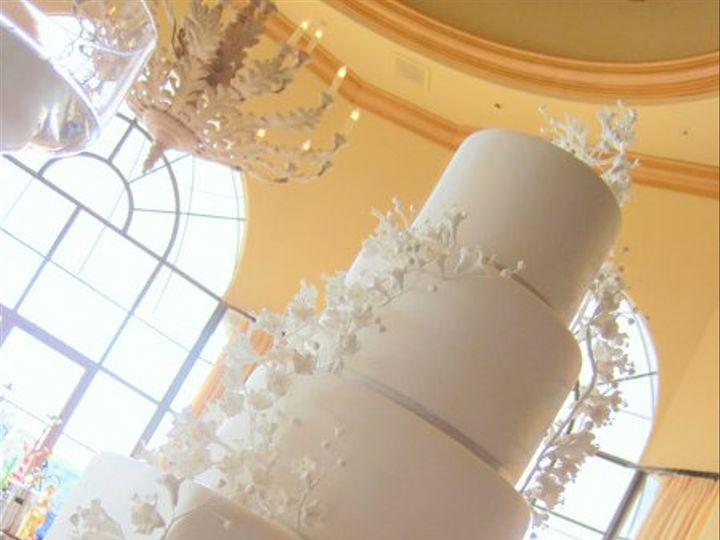 Tmx 1305839522058 LisaPejWhiteCherryBlossoms Huntington Beach, California wedding cake