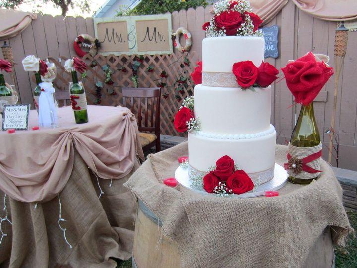 Tmx 1423855944915 Backyardrustic Huntington Beach, California wedding cake