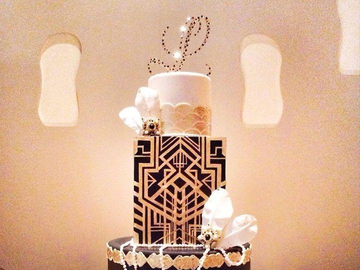 Tmx 1423855982157 Gatsby Huntington Beach, California wedding cake