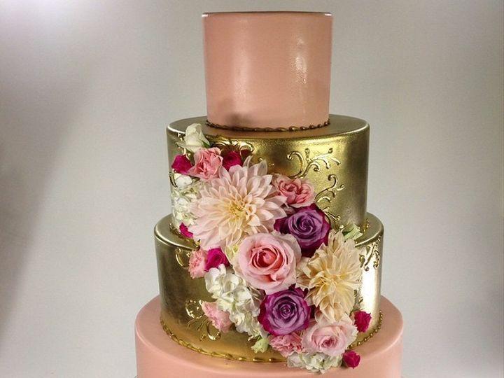 Tmx 1423855993173 Goldmiddle Huntington Beach, California wedding cake
