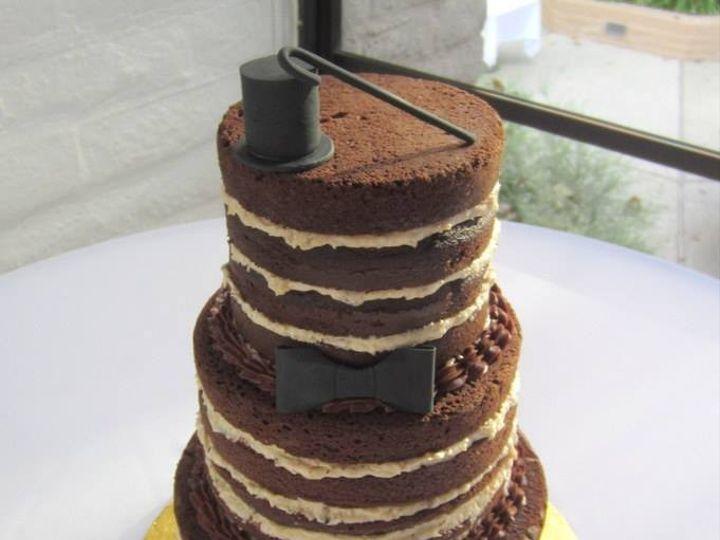 Tmx 1423856007882 Nakedcake Huntington Beach, California wedding cake