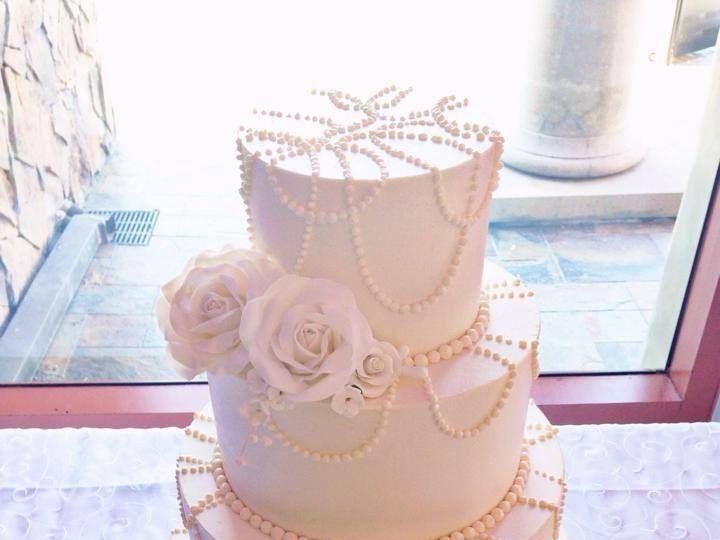 Tmx 1423856015515 Pearl Cake Huntington Beach, California wedding cake
