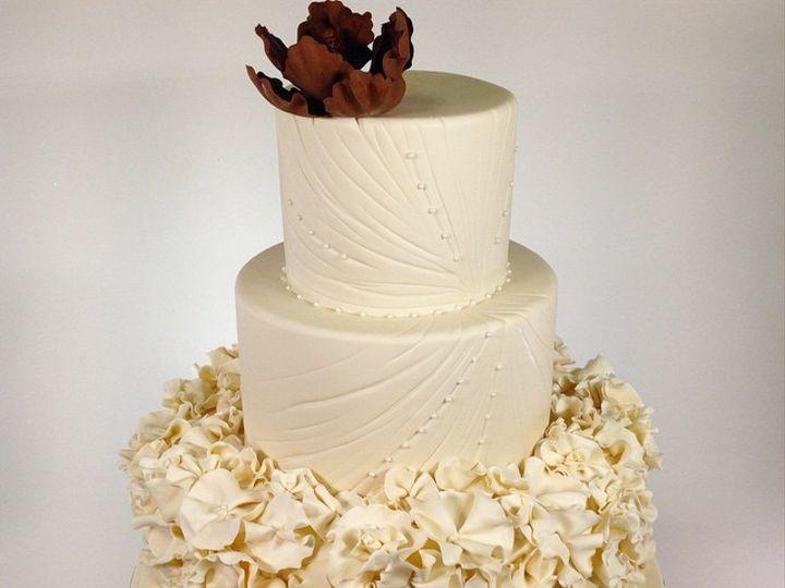 Tmx 1423856020927 Puff3rd Tier Huntington Beach, California wedding cake
