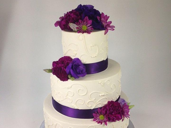 Tmx 1423856023906 Purple Huntington Beach, California wedding cake