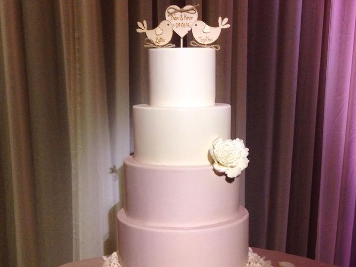 Tmx 1423856026592 Rosette Bottom Huntington Beach, California wedding cake