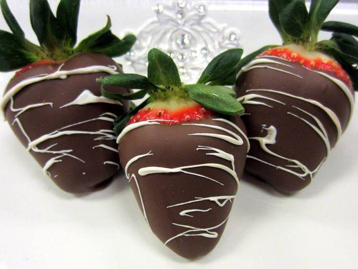 Tmx 1423865748906 Strawberries Huntington Beach, California wedding cake