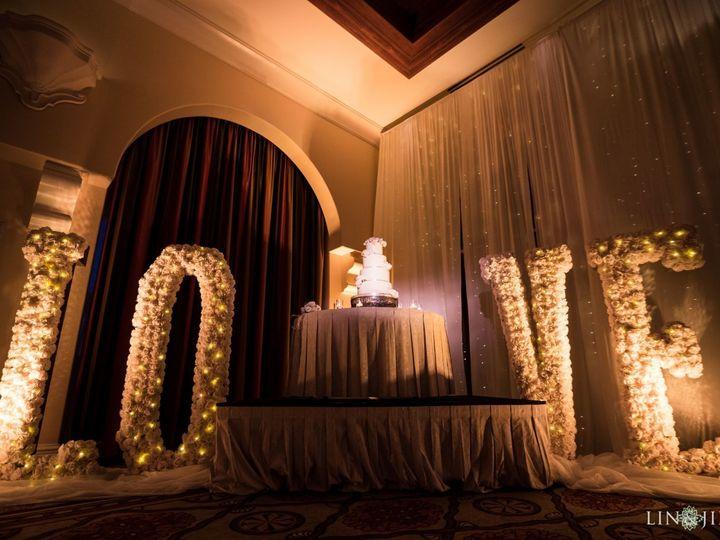 Tmx 1518814670 89b1b4ef8156df74 1518814669 E6e2463f7a583b87 1518814663050 6 13 Hyatt Regency H Huntington Beach, California wedding cake