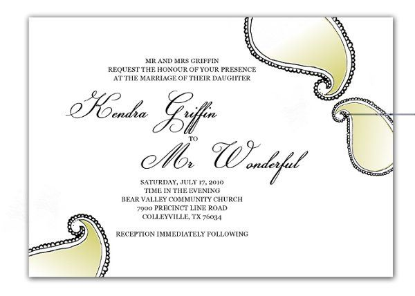 Tmx 1274416233130 Greenpaisley1 Denton wedding invitation