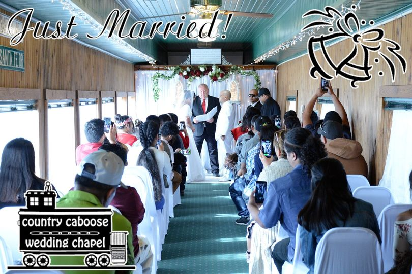 Wedding in the Passenger Car