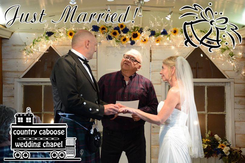Drop In Wedding