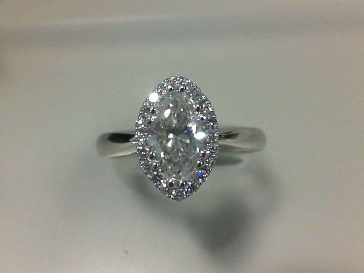Tmx 1509037522003 Keller Jason 14k Wg Marquise Dia Halo Eng Ring1 Albany wedding jewelry