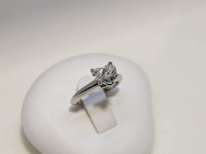 Tmx 1509037571166 Lawrence Jolene Plat 1.50ct Heart Dia Eng Ring Albany wedding jewelry