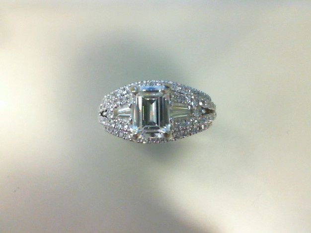 Tmx 1509037588964 Moss Brian Michelle Plat Emerald Cut Moissanite En Albany wedding jewelry