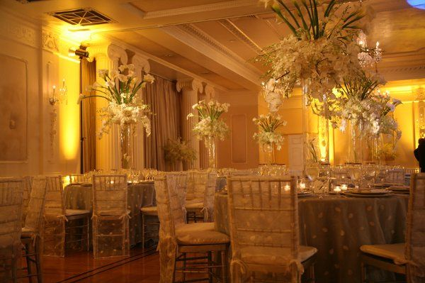 I worked very hard with the client to create a grand, yet elegant centerpiece
