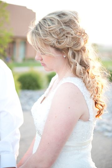 Hair and Makeup by Nanette Briggs of NBexclusive. Picture taken by Falling Star Photography...