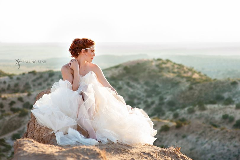 Romantic Bridal Updo and Makeup